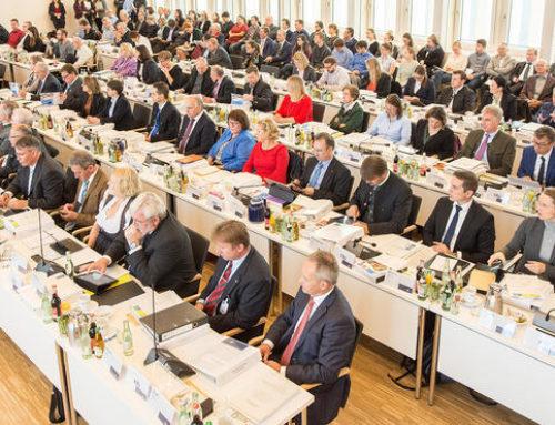 Konstituierende Sitzung des Bezirkstags Oberbayern am 06.11.2018